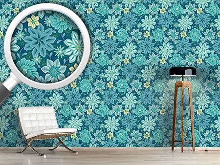 Design Wallpaper Flowers Say Adieu