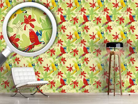 Design Wallpaper Ara Tropical