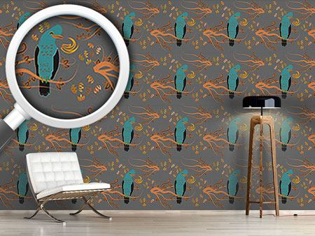 Design Wallpaper Peruvian Paradise Bird
