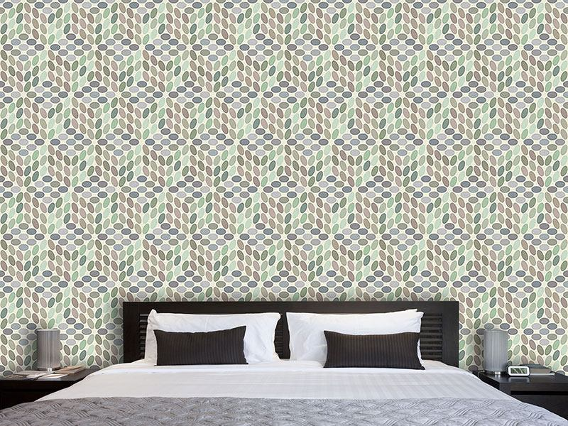 Design Wallpaper Vintage Dots
