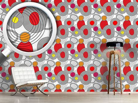 Design Wallpaper Circle Meeting