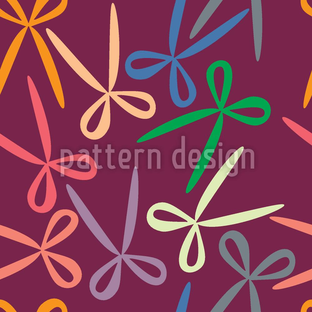 Papier peint design Sharp And Colorful
