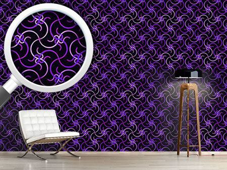 Design Wallpaper Ultraviolet Waves