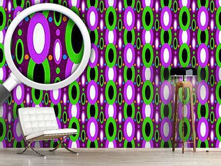 Design Wallpaper Oval Cortina