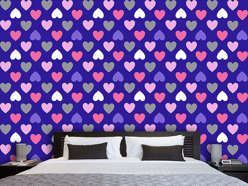 Papel tapiz de diseño Purple Heart