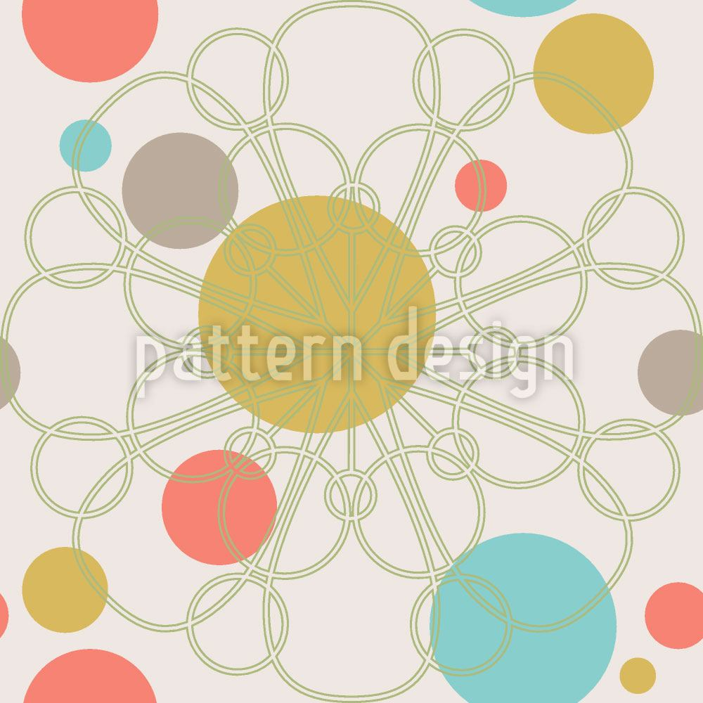 Papier peint design Confetti Bloom