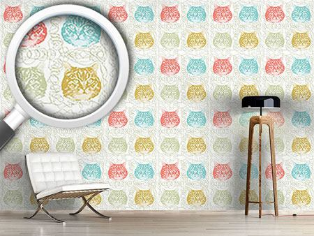 Design Wallpaper Kitty Minka Loves Wool