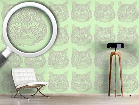 Design Wallpaper Cat Memory