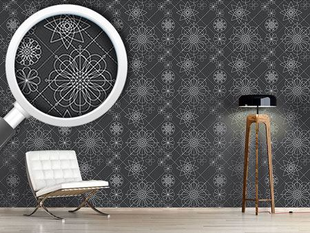 Design Wallpaper Flower Construction