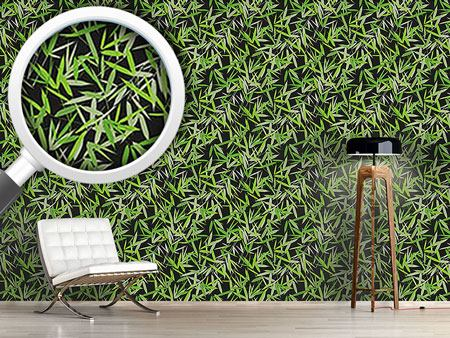 Design Wallpaper Bamboori Black