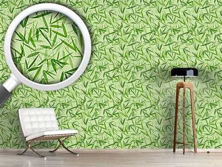 Design Wallpaper Bamboori Tone On Tone