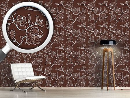 Design Wallpaper Hibiscusdream Mediterranean