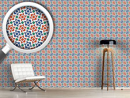 Design Wallpaper Geometric Alhambra