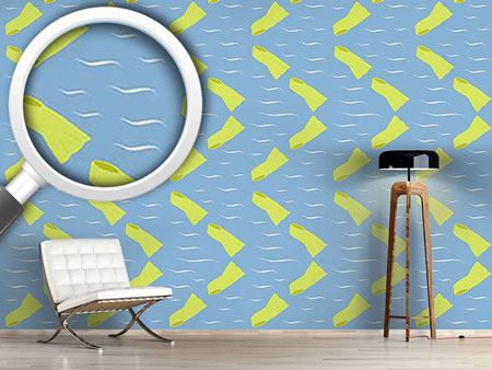 Design Wallpaper Duck Feet Season