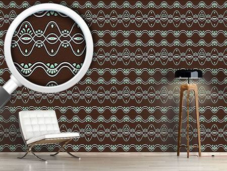 Design Wallpaper Folkloria Mint