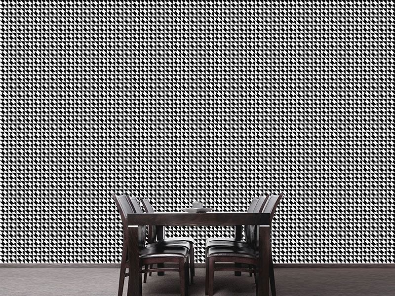 Design Wallpaper Houndstooth Geometry