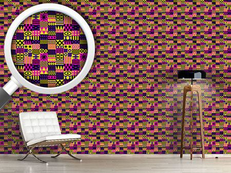 Design Wallpaper Patchwork Surreal