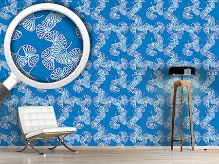 Design Wallpaper Ginkgo On Water