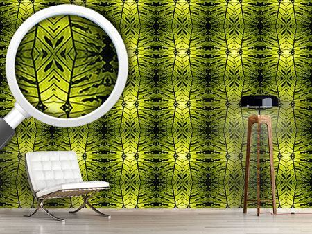 Design Wallpaper Monstera Green
