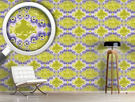 Design Wallpaper Pansy Crystal
