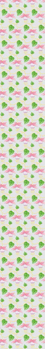 Design Wallpaper Delicate Garden Fuchsia