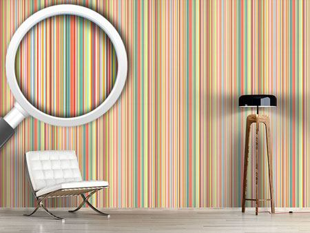Design Wallpaper Multicolor Stripes