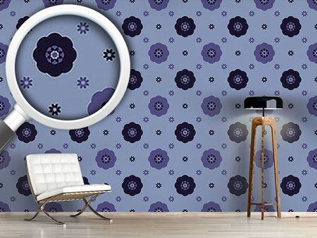Design Wallpaper Carmen Midnight Flowers