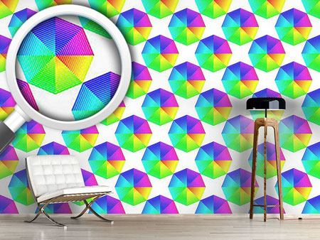 Design Wallpaper Color Spectra Octagon