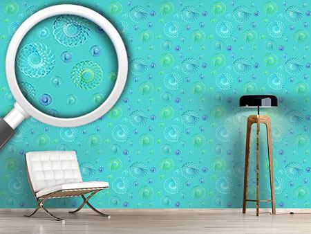 Design Wallpaper Many Swirls In Spring