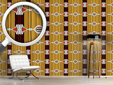 Design Wallpaper Curtains Up For Baroque