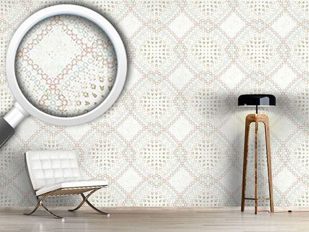 Design Wallpaper Checks Soft And Moving