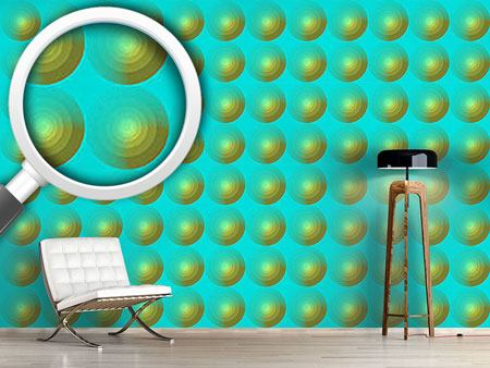 Design Wallpaper Summer Fresh Circles