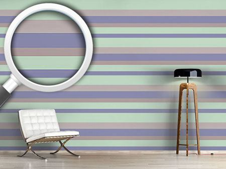 Design Wallpaper Beach Stripes