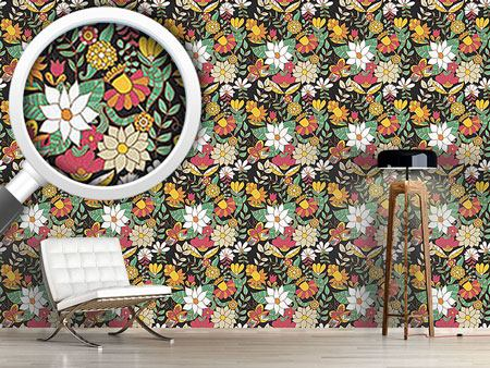 Design Wallpaper Night Gardens In Saint Petersburg