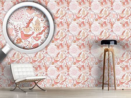 Design Wallpaper Russian Tea Party