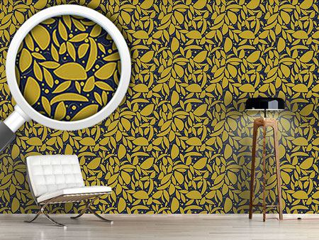 Design Wallpaper Gold Leaf