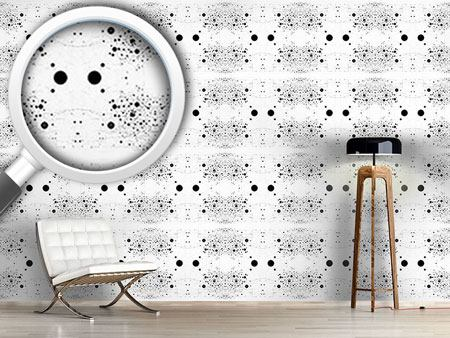Design Wallpaper Symmetry In Dotted Chaos