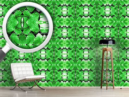 Design Wallpaper Fern Leaf Ladies