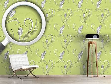 Design Wallpaper Bromelia