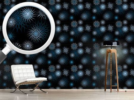 Design Wallpaper Frostwork On Midnight