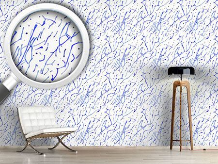 Design Wallpaper Tries In Writing With Ink