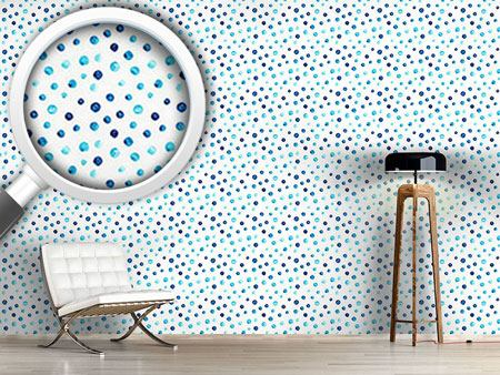 Design Wallpaper Little Water Color Dots