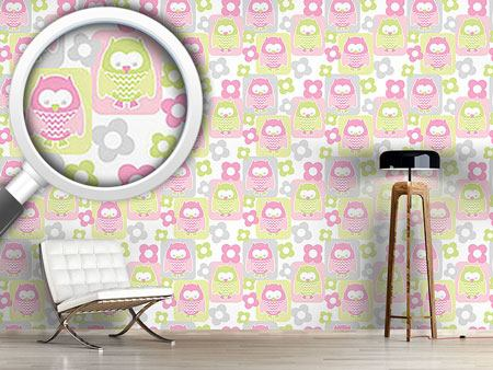 Design Wallpaper Cute Owls