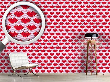 Design Wallpaper Hot Kisses