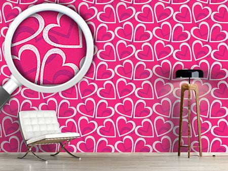 Design Wallpaper Love Love Love