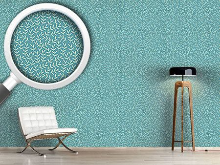 Design Wallpaper Leaves So Tender