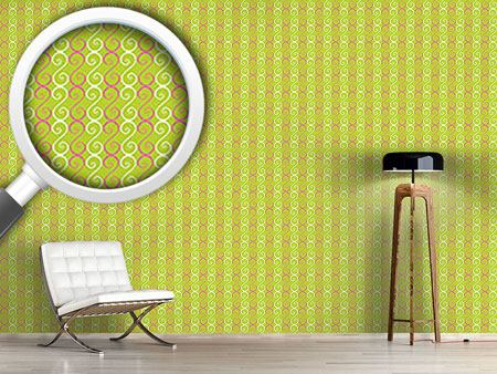 Design Wallpaper Swirly Stripes