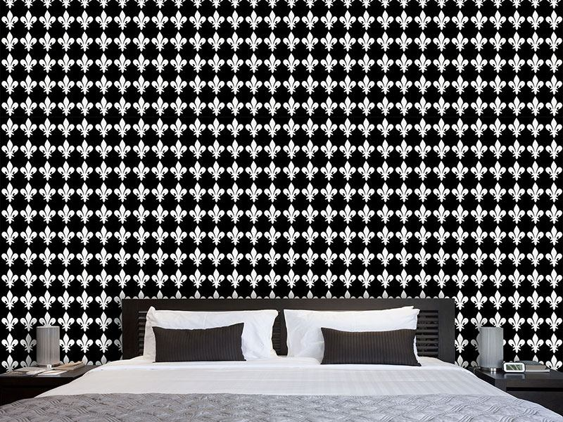 Design Wallpaper Fleur De Lys At Night