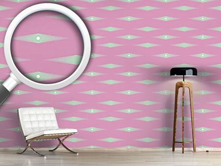 Design Wallpaper Rhombus Fantasy