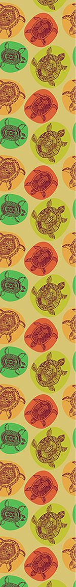 Papier peint design Turtles Of All Oceans